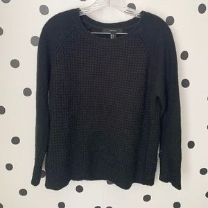 🌈5/$25🌈forever 21 black sweater size S